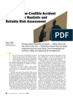 Credible Accident Scenarios