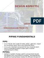 Piping (Design Aspects)