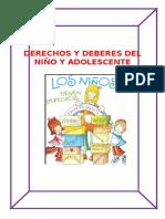 Derechos y Deberes Del Niño y Adolescente