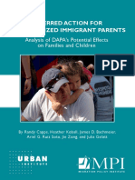 Migration Policy Report on DAPA