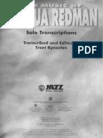 Josua Redman Book-2