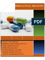 Pharma Industry Report