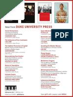 Duke University Press program ad for the Association for Asian Studies conference 2016