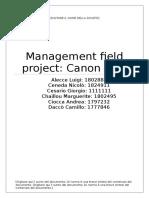 Canon Analysis