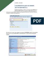 Identificar Elementos en Un Reporte z