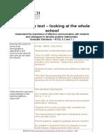 schools as text