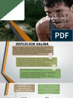 Depleción Salina y Acuosa