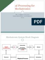Signal Processing for Mechatronics