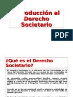 Introducción Derecho Societario