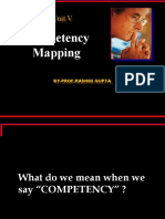 UNITV Competency Mapping