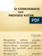 Proyeksi Stereografis Dan Proyeksi Kutub