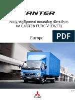 Body Mounting Directives FUSO Canter TD Euro5 Dec 2010 En