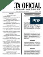 Gaceta Oficial N° 40.855 - Notilogía