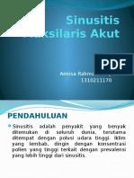Sinusitis Maksilaris Akut