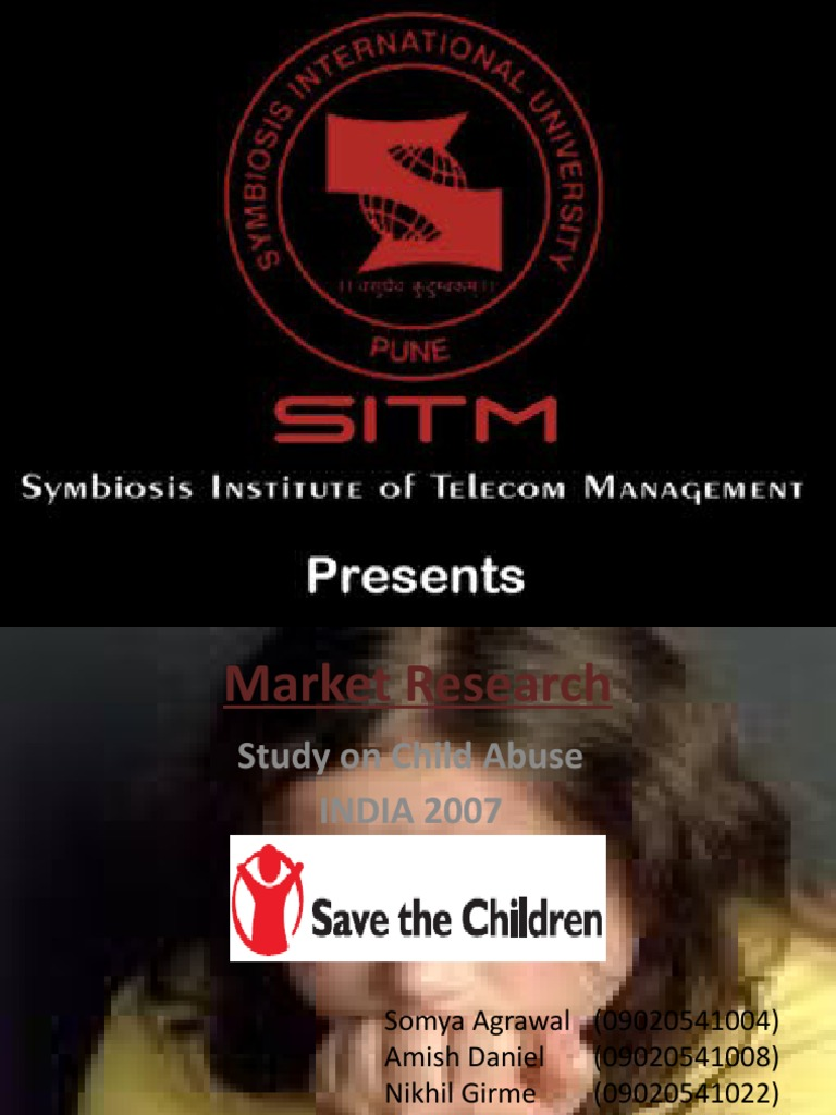 a good thesis about child abuse Child abuse has been happening all over the world to young children, but many of these things are kept hidden, because the children are too scared to speak on.