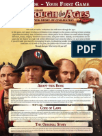 Through the Ages - A New Story of Civilization Rulebook