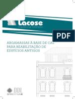 New Folheto Tdmortars