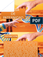 PRUEBA DE PATERNIDAD 2016 II.pptx