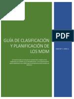 Guía de Clasificación y Planificación de Los MDM