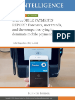 Mobile payments space analysis