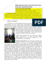 Dengue-Charla Dr. Garcia Rocha