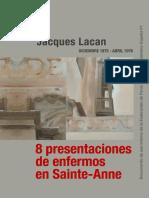 Libro Jaques Lacan 8 Presentaciones Enfermos