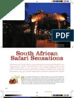 South African Safari Sensations