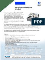 Amplificador HGBT 5-40 52-1002 MHz
