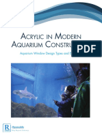 Acrylic in Modern Aquarium Exhibits