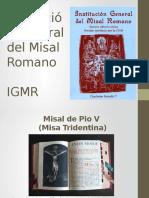 Institución General Del Misal Romano