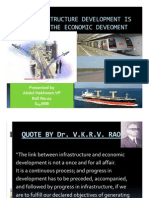 infrastructure & economic develpment of a country