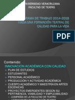Plan de Trabajo 2014-2018