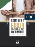 COMO LER A BÍBLIA E ENTENDELA