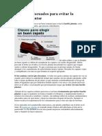 Zapatos Adecuados Para Evitar La Fascitis Plantar