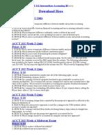 ACCT 312 All Quizzes + Midterm Exam