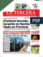 Diario La Tercera 26 02 2016