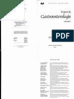 Tratat de gastroenterologie Mircea Grigorescu Vol 1