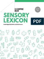 WCR Sensory Lexicon Edition 1 2016