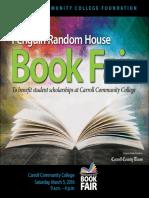 Penguin Random House Book Fair Program Guide