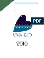 relatorio 2010 vivaRio