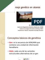 Consejo Genetico en Ataxias