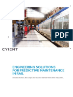 Predictive Maintenance in Rail