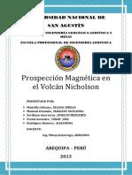 Prospeccion Magnetica_VOLCAN NICHOLSON