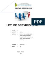 Ley Servir Civil