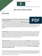 Upsc Essay Strategy_ How to Write an Essay! _ Iasbaba