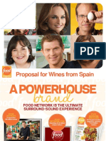 food network magazine presentation