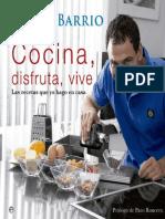 Cocina, disfruta, vive - Darío Barrio