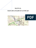 Manual de Autocad Escanear Mapa