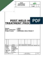 Pt Bm 183 Dc 00007 Pwht Procedure