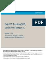 Digital TV Transition 2009